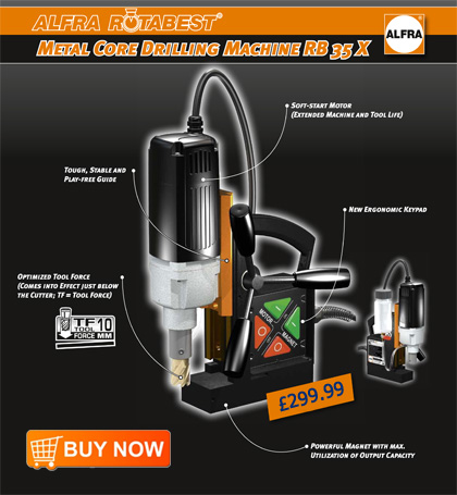 ... Magnetic Drilling Machine. German quality at an amazingly low price