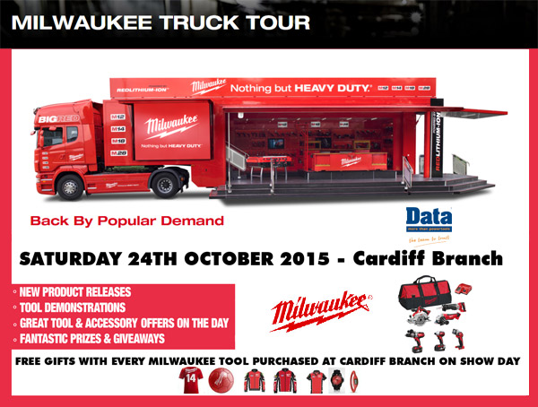 The Milwaukee Power Tools UK and Ireland Big Red Truck Tour is back in ...