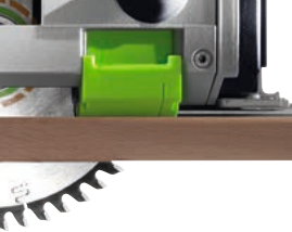 Festool TS55R splinter guard