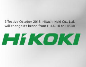 Hitachi changes name to Hikoki