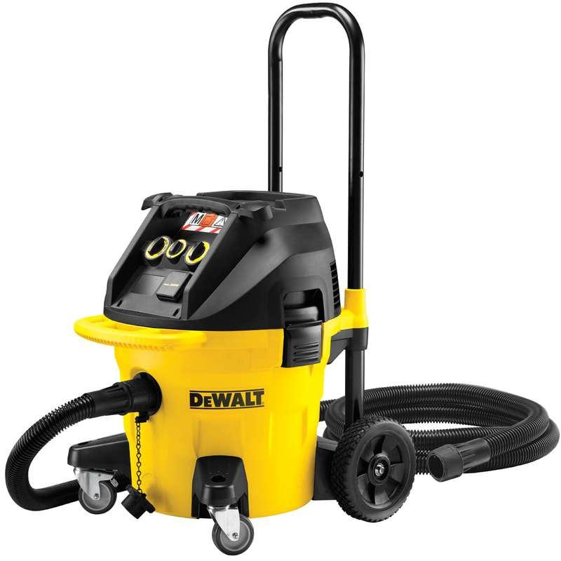 DeWALT DWV902M 38L Construction Dust Extractor M Class