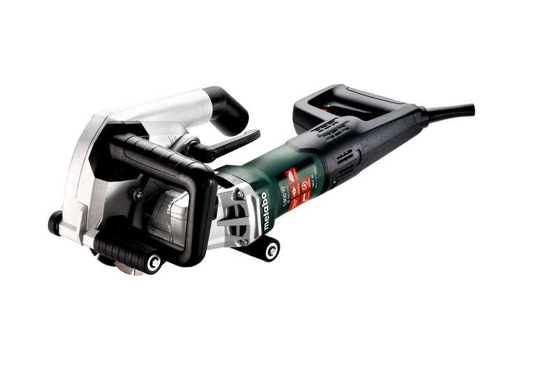 Metabo MFE40 40mm Wall Chaser with 2x 5inch Diamond Blades