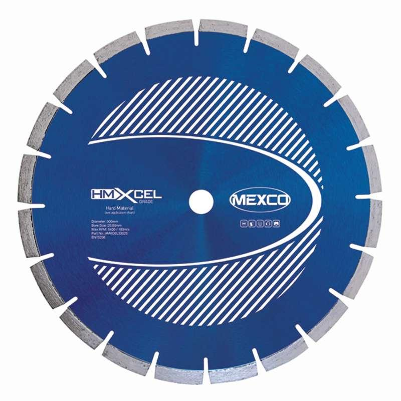 Mexco Hard Materials Xcel Grade Diamond Blades