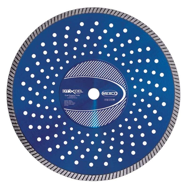 Mexco Dual Purpose-Turbo Xcel Grade Diamond Blades