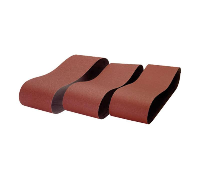 Machinery sanding belts