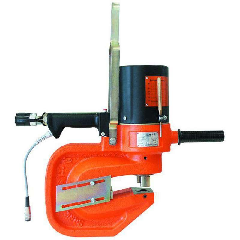 Alfra APS120 Hydraulic Punching Unit with auto return stroke