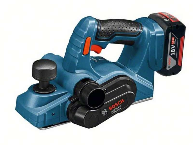 Bosch GHO18V-LI Pro Cordless Planer with 2x 4ah Batteries
