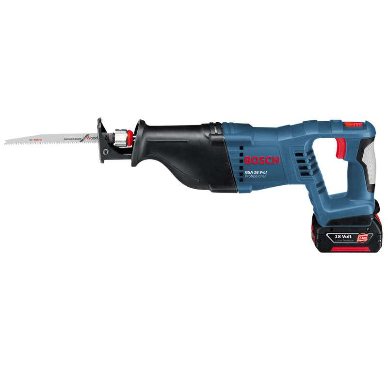 Bosch GSA18V-LI 18v Reciprocating Saw with 2x 4.0ah Batteries