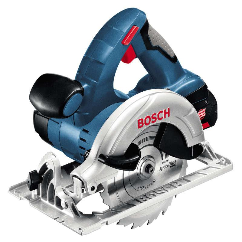 Bosch GKS18V-LI 18v Circular Saw with 2x 4.0ah Batteries