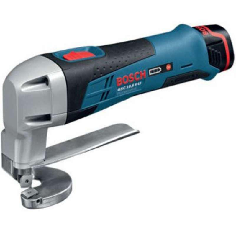 Bosch GSC10.8V-LI Metal Shear 2x 1.3ah Batts