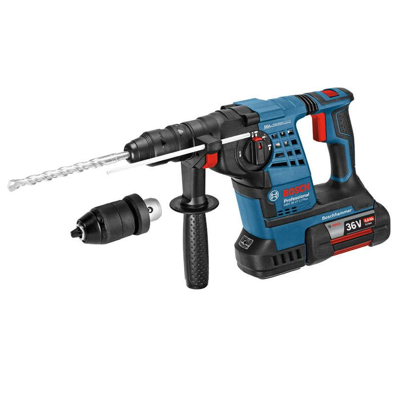 Bosch GBH36VF-LI Plus 36v SDS Drill 1 x 4.0 Ah Battery