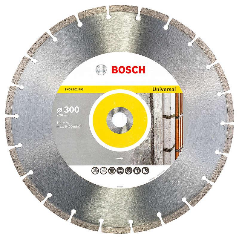Bosch 300mm Diamond Universal OPP Disc 20mm Bore