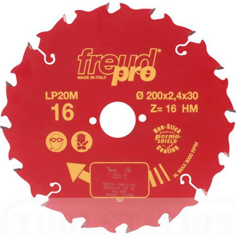 FREUD PRO LP20M 025 TCT Circular Saw Blade - 250mm x 30mm - 24T