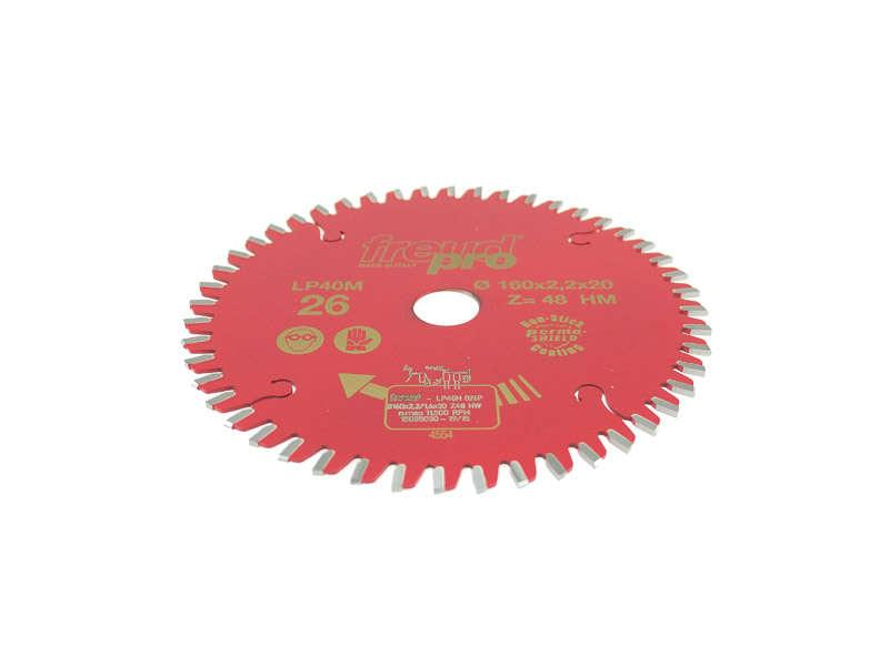 Freud Circular Saw Blade 160mm X 2.4mm X 20mm 40 Tooth