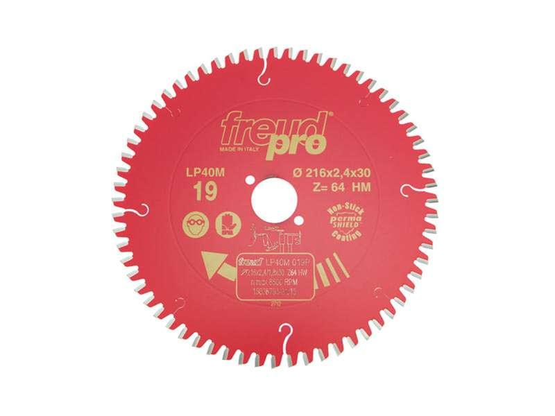 FREUD PRO LP40M 019 TCT Circular Saw Blade - 216mm x 30mm - 64T