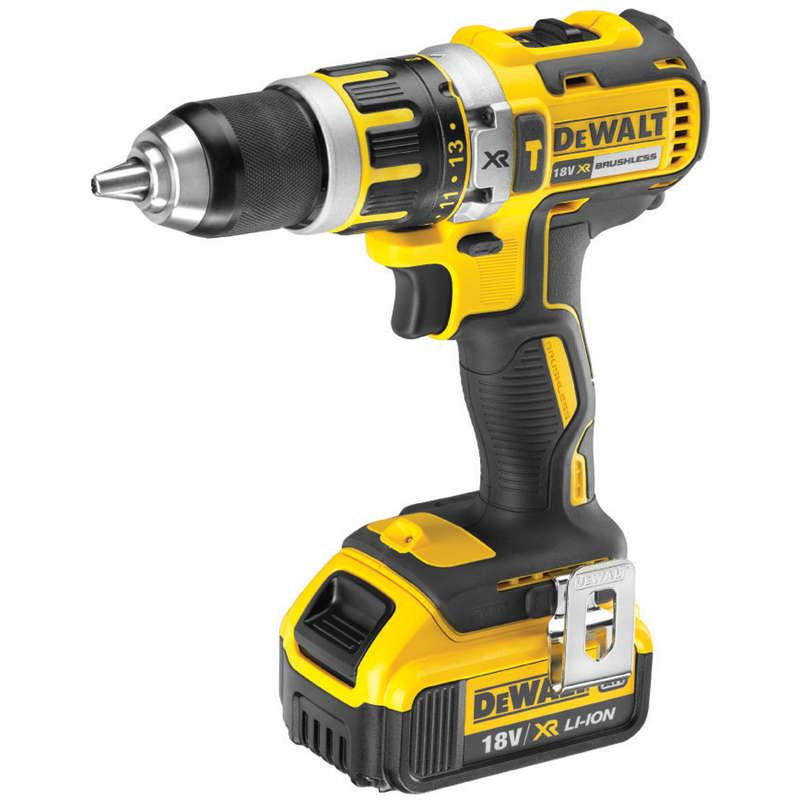 DeWALT DCD795M1-GB 18V Brushless Hammer Drill, 1 x 4.0Ah Battery