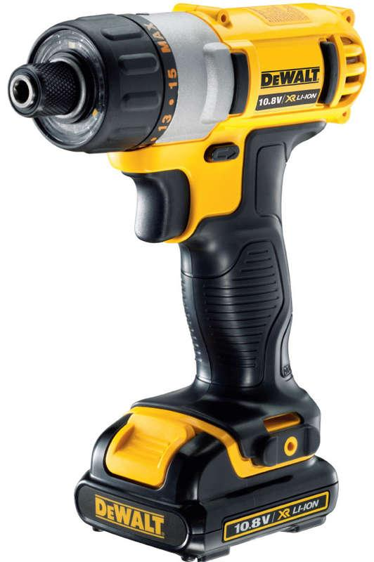 DeWALT DCF610C2-GB 10.8V Screwdriver 2 x 1.3Ah Batteries