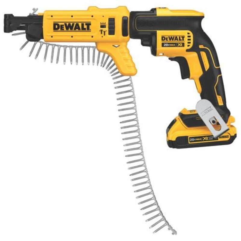DeWALT DCF620D2K-GB 18v Drywall Collated Screwdriver
