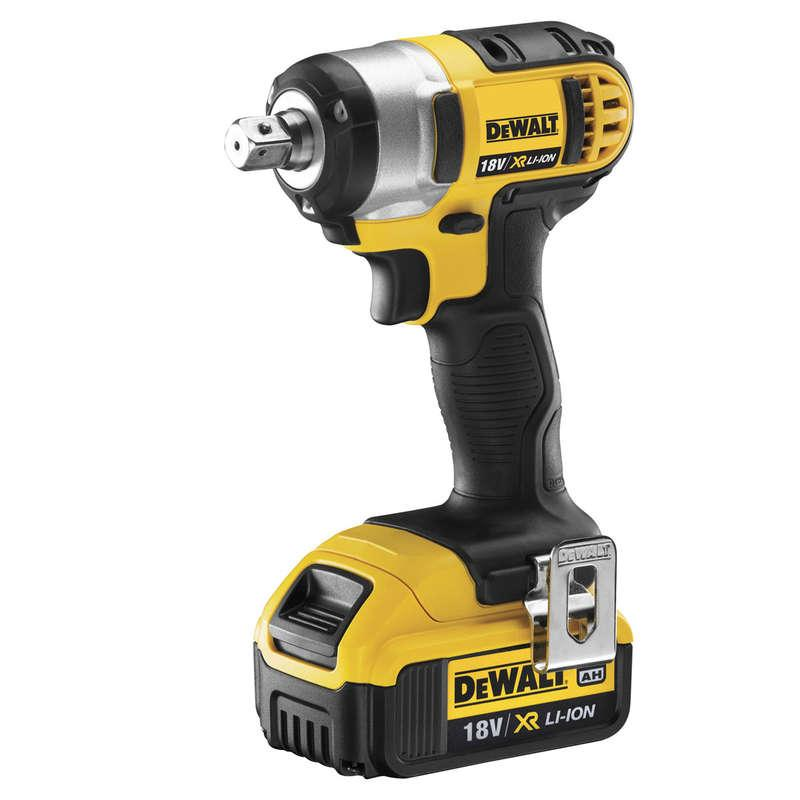 DeWALT DCF880M2-GB 18V XR Compact Impact Wrench 2 x 4Ah Batts