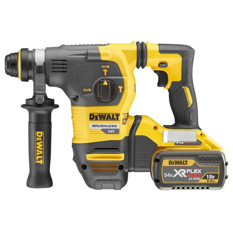DeWALT DCH333X2-GB 54V XR FLEXVOLT SDS-Plus 2x 9.0ah Batteries