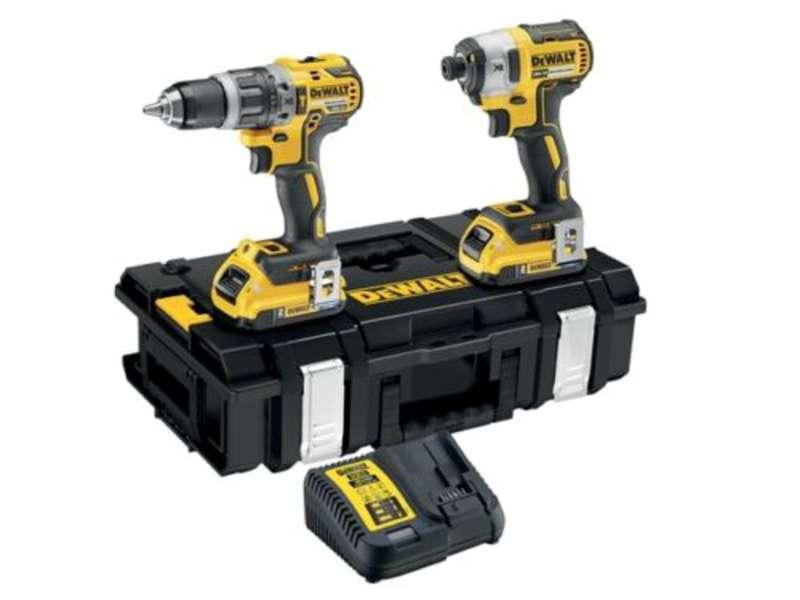 DeWALT DCK266D2B 18V XR Brushless Twin Pack - Bluetooth