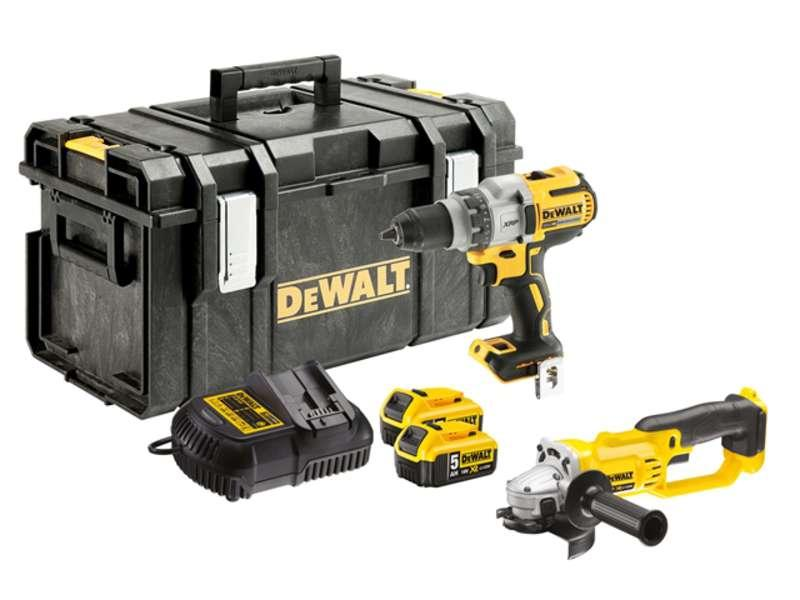 DeWALT DCK278P2-GB 18v XR TWIN PACK With 2 x 5.0ah Batteries