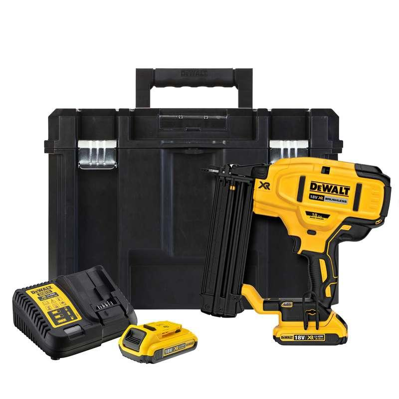 DeWALT DCN680D2-GB 18V XR Brushless 18Ga Brad Nailer (2x 2.0ah Batteries)