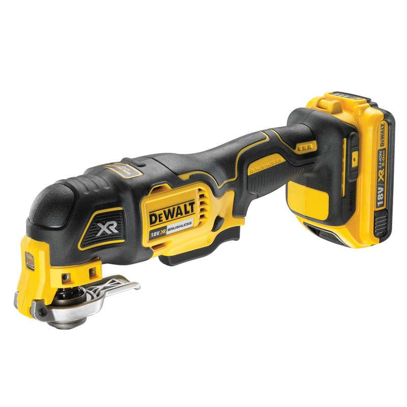 DeWALT DCS355D1-GB 18V XR Brushless Oscillating Tool