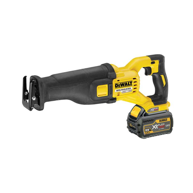 DeWALT DCS388T2 54v XR FLEXVOLT Reciprocating Saw 2x 6.0ah Batteries
