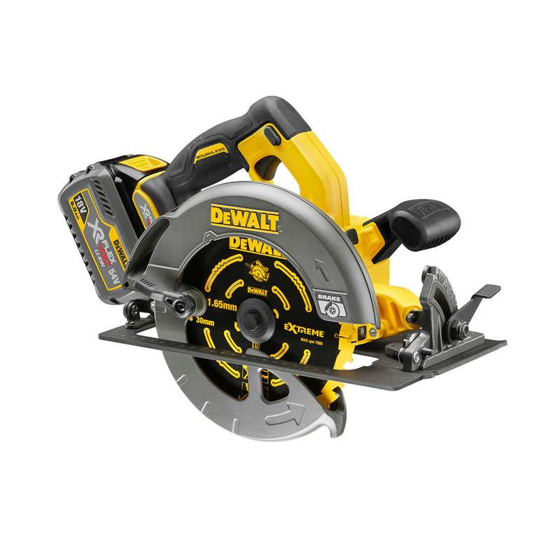 DeWALT DCS575T2 54v XR FLEXVOLT Circular Saw 2x 6.0ah Batteries