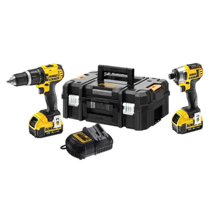 DeWALT DCZ285M2T 18V Limited Edition Twinpack 2x4.0ah Batteries