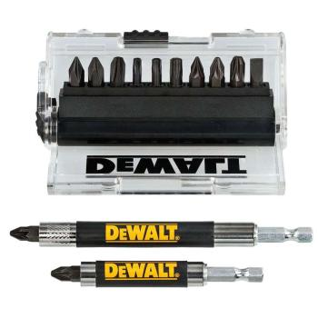 DeWALT DT70512T-QZ Impact Torsion Screwdriver Bit Set 14 pc + Drive Guide
