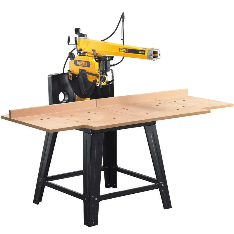 DeWALT DW721KN 300mm 2000 Watt 507mm Radial Arm Saw 240v