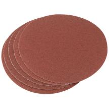 Draper 23354 - Five 200mm 60 Grit Hook & Eye Backed Aluminium Oxide (74 08 180 UK)