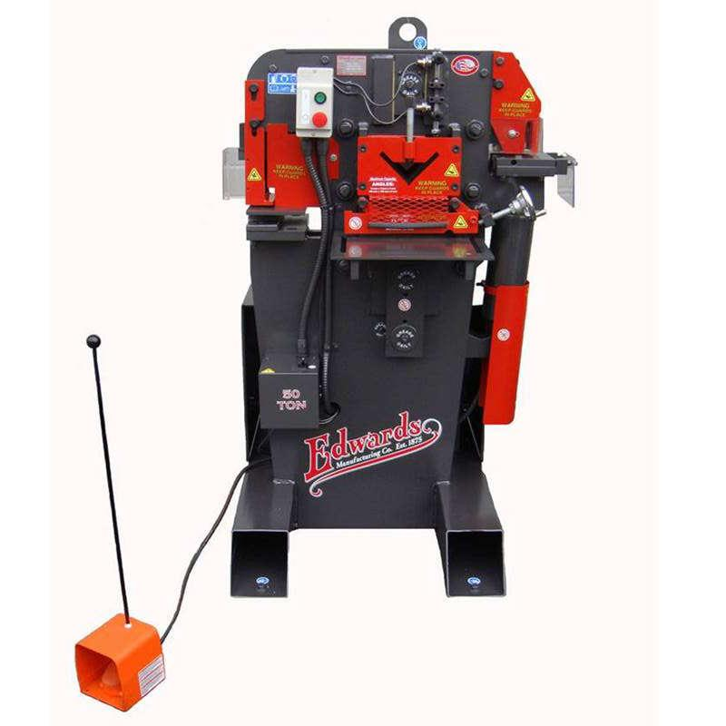 Edwards Jaws IV 50 Ton Ironworker