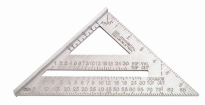 Johnson 7inch Professional Rafter / Angle Square
