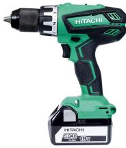 Hitachi DV18DGAL/JJ 18V Combi Drill 2x 5.0AH Li-ion Batteries