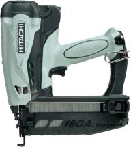 Hitachi NT65GS Cordless Gas Finish Nailer ( Straight )