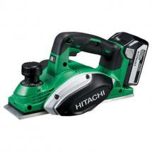 Hitachi P18DSL/JJ 18v Cordless Planer Kit 2x 5.0ah Batteries