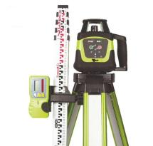Imex 66R Rotating Laser with Receiver, Tripod & 5m Staff