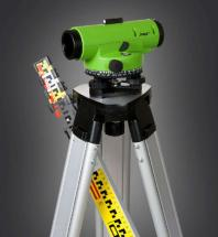 Imex LAR28 Auto Dumpy Level 28x Zoom Tripod & 5m Staff