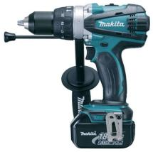 Makita DHP458RMJ 18V Cordless Compact 2-speed Combi Drill