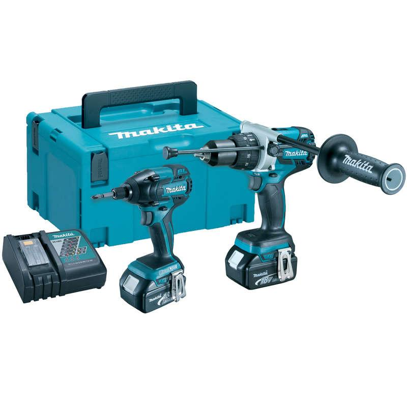 Makita DLX2040TJ 18V Cordless Brushless Li-ion Twinpack