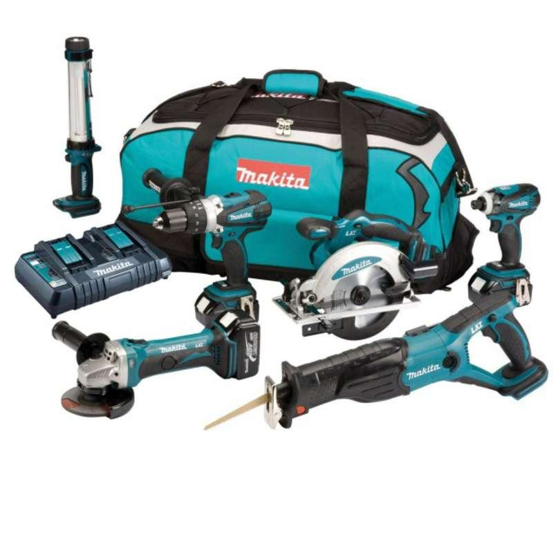 Makita DLX6000PM 18v LXT 6 Piece Combo Kit
