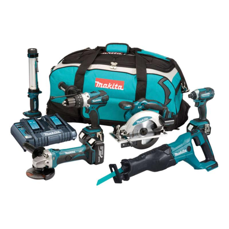 Makita DLX6044PT 18v 6 Piece Combo Kit LXT
