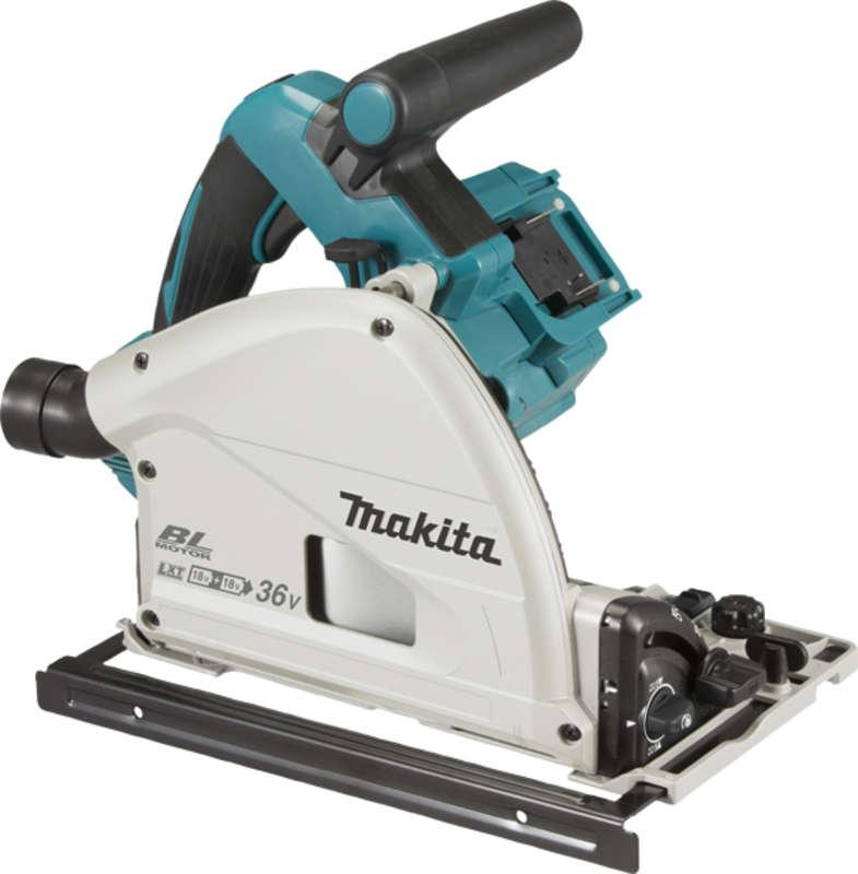 Makita DSP600ZJ 18+18=36v Brushless Plunge Saw Body Only with Case