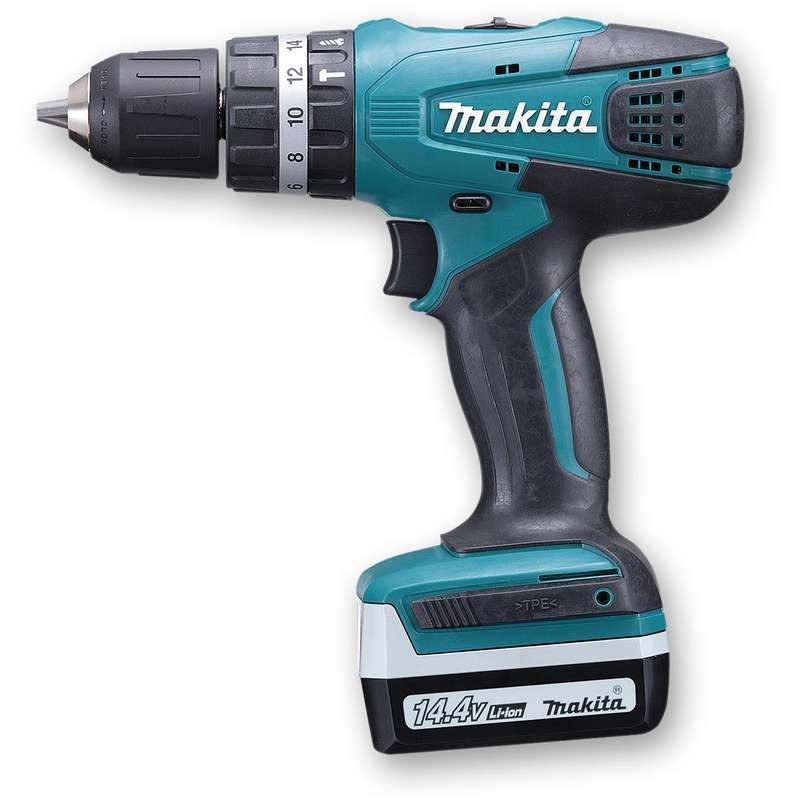 Makita HP347DWE 14.4v G Series Combi Drill
