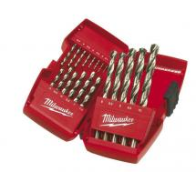 Milwaukee HSS-G Thunderweb Metal Drill Set (DIN338) -19pcs