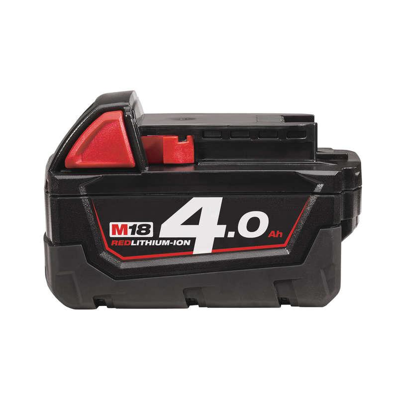 Milwaukee M18B4 M18 4.0Ah Red Lithium-Ion Battery