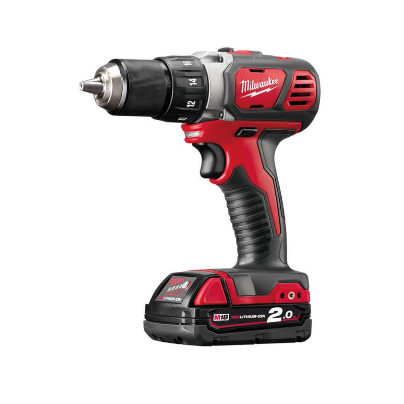 Milwaukee M18BDD-202C M18 Compact Drill Driver